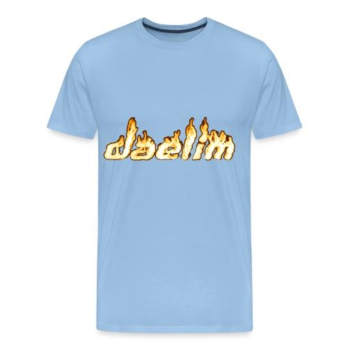 Heißer Daelim Schriftzug - Männer Premium T-Shirt