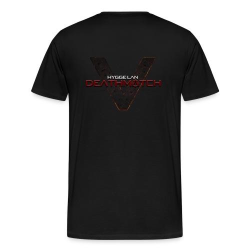 DEATHMATCH Simple png - Herre premium T-shirt