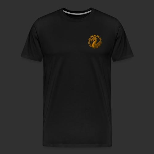 coin_7komma5_brust - Männer Premium T-Shirt