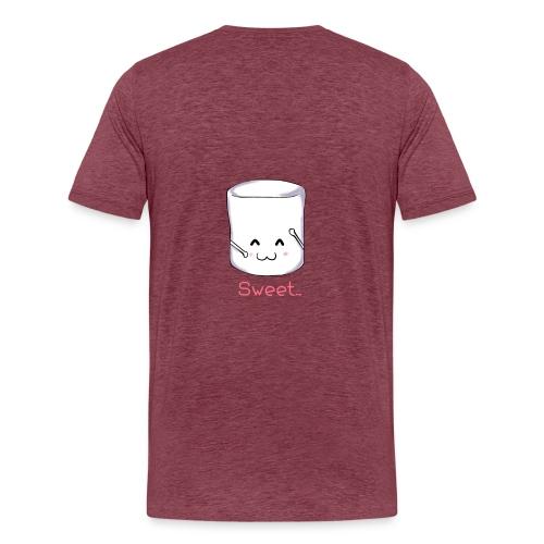 Marshmallow - Maglietta Premium da uomo