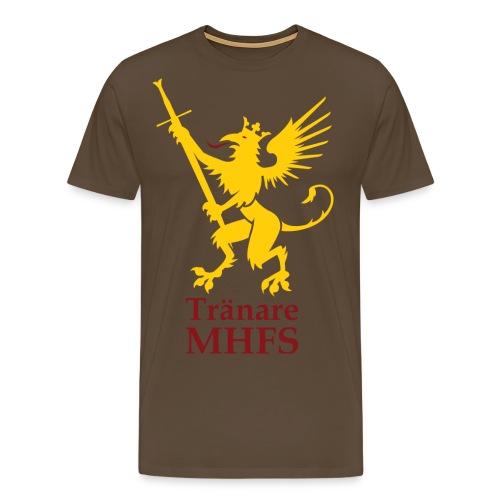 MHFS tranare png - Premium-T-shirt herr