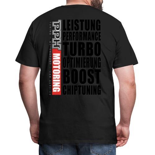 PPH V1 Back-Print - Männer Premium T-Shirt