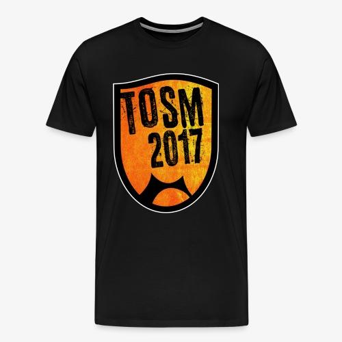 FRONT png - Herre premium T-shirt