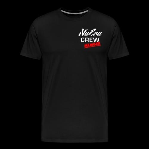logo weiss 2 - Männer Premium T-Shirt