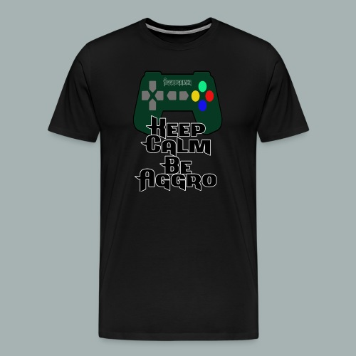 Keep Calm png - Männer Premium T-Shirt