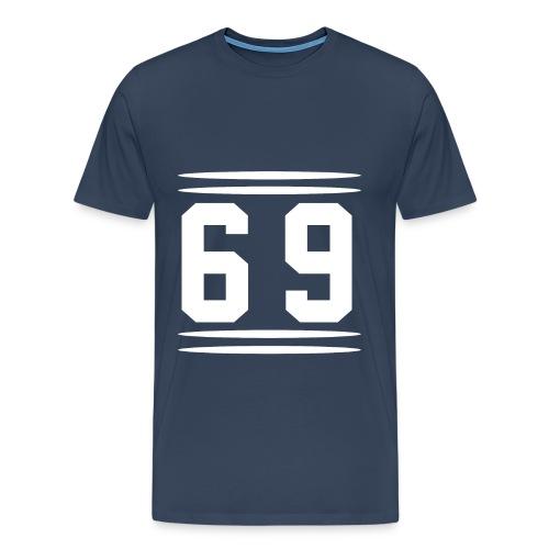 123 gif - Männer Premium T-Shirt