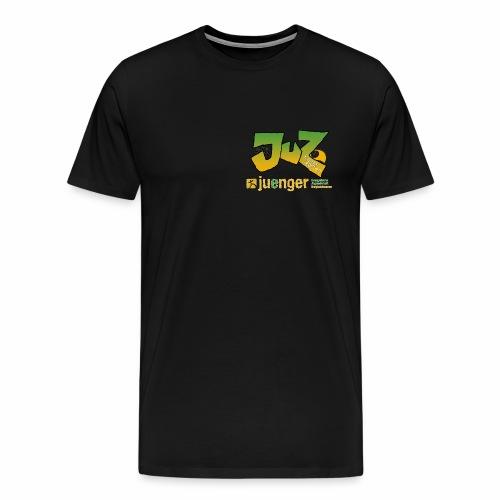 JUZ-Logo2014-gruen - Männer Premium T-Shirt