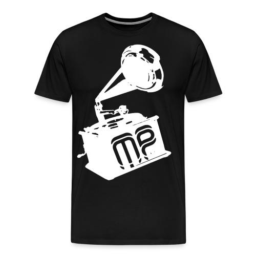 print3white png - Männer Premium T-Shirt