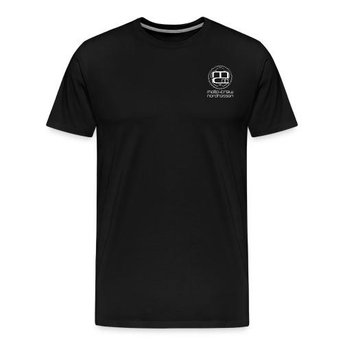 Logo weiss neu - Männer Premium T-Shirt