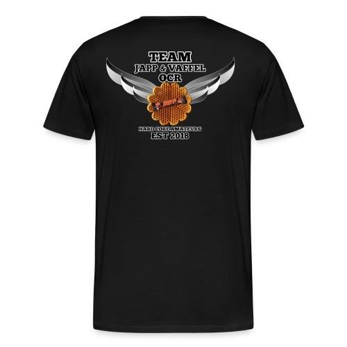 JappogVaffel - Premium T-skjorte for menn