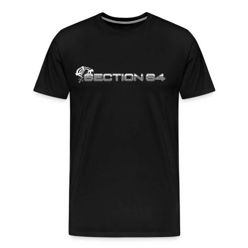 S64 logo for dark products - Men's Premium T-Shirt
