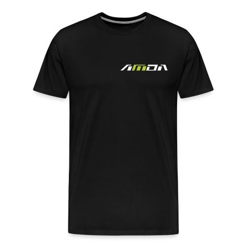 AMDA_Logo Font test - Männer Premium T-Shirt
