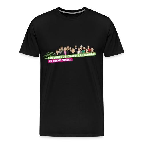 Les verts au grand consei - T-shirt Premium Homme