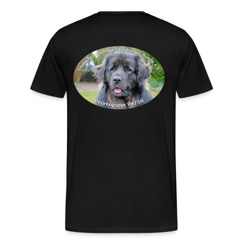 Leonberger BG Logo oval - Männer Premium T-Shirt