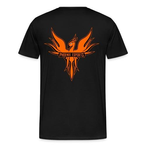 Phoenix Mascot 3Farben - Männer Premium T-Shirt