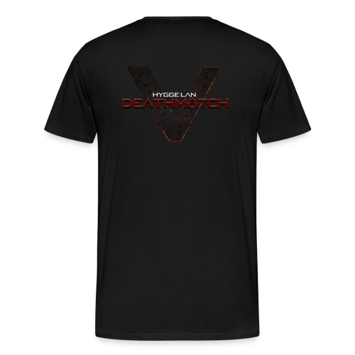 DEATHMATCH Simple png - Herre premium T-shirt