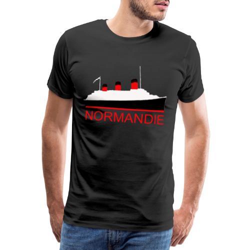 PAQUEBOT NORMANDIE - T-shirt Premium Homme
