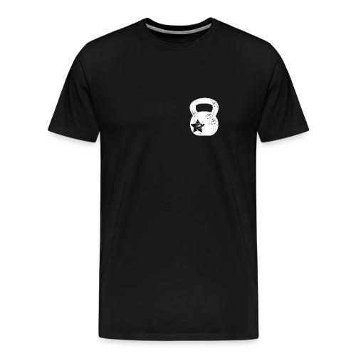 kettlebell - Premium-T-shirt herr
