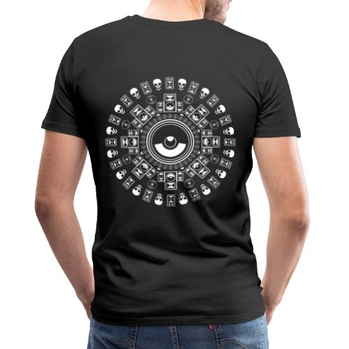 Speaker Mandala - Men's Premium T-Shirt