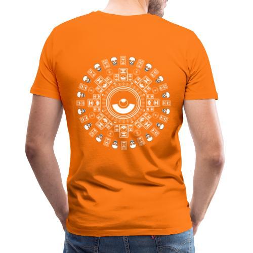 Speaker Mandala - Men's Premium T-Shirt