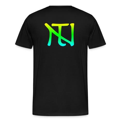 Green Fade Limited Edition - Premium-T-shirt herr