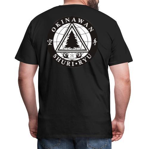 Instruktør mærke Ryg placering - Herre premium T-shirt