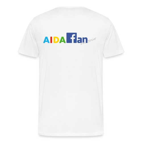 AIDA fan on tour - Männer Premium T-Shirt