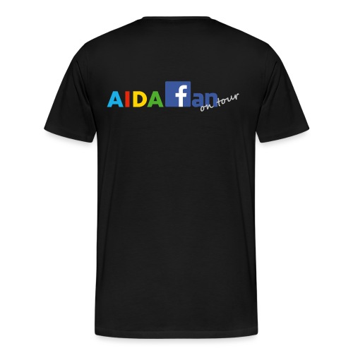 AIDA fan on tour - Männer Premium T-Shirt