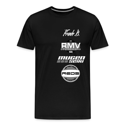 Nametag NBR Frank B - Männer Premium T-Shirt