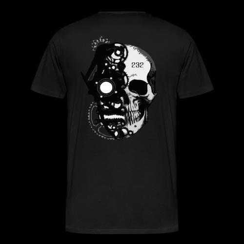 CNDMND SKULL - Men's Premium T-Shirt