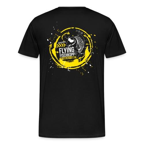 Flying Fischkopp T-Shirt - Männer Premium T-Shirt