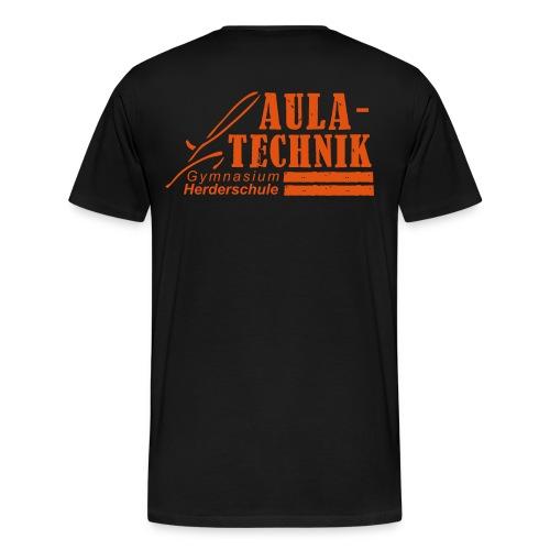 Logo Aula-Technik Vector+ - Männer Premium T-Shirt