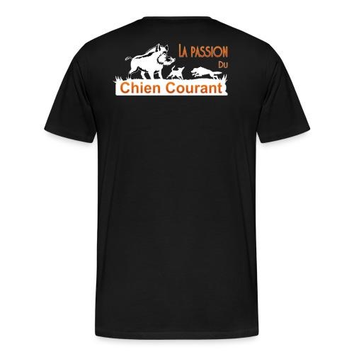 Passion chien courant - T-shirt Premium Homme