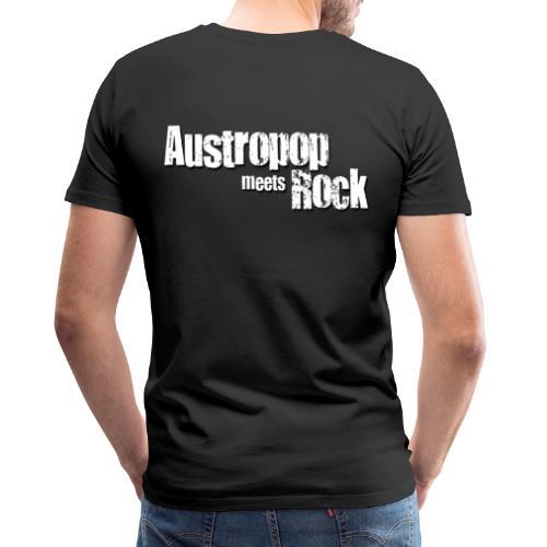 Austropop meets Rock classic back - Männer Premium T-Shirt