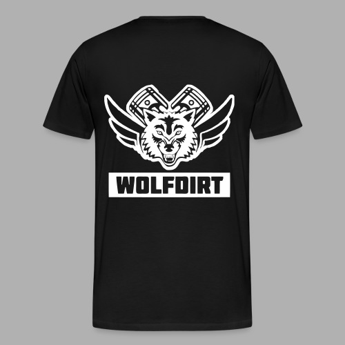 WOLFDIRT - VEKTOR - Männer Premium T-Shirt