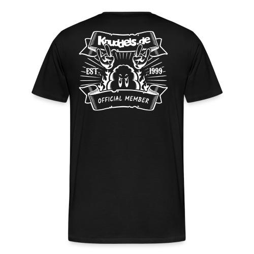 Knuddels Club Colors - Männer Premium T-Shirt