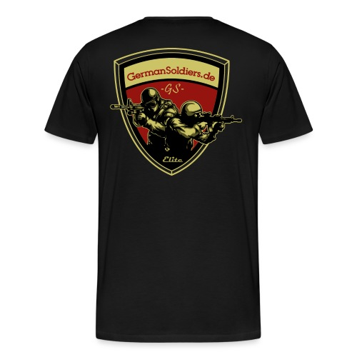 GermanSoldiers Clan 4 - Männer Premium T-Shirt