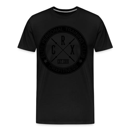 CRXFitness Logo - Men's Premium T-Shirt