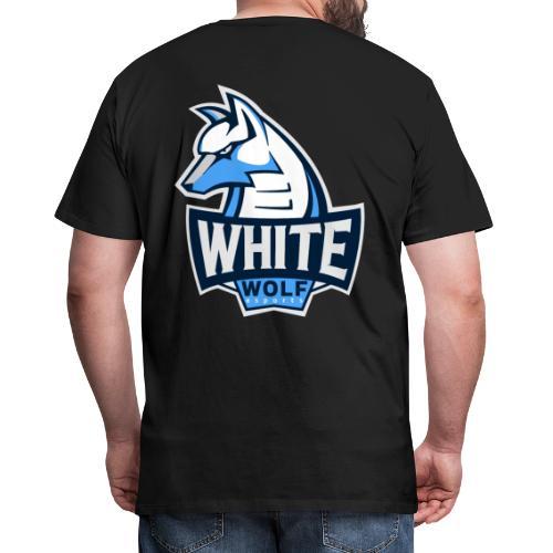 White Wolf Logo - Männer Premium T-Shirt