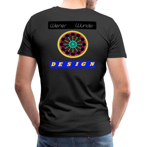 Wiener Wunder Design Logo #2 - Männer Premium T-Shirt