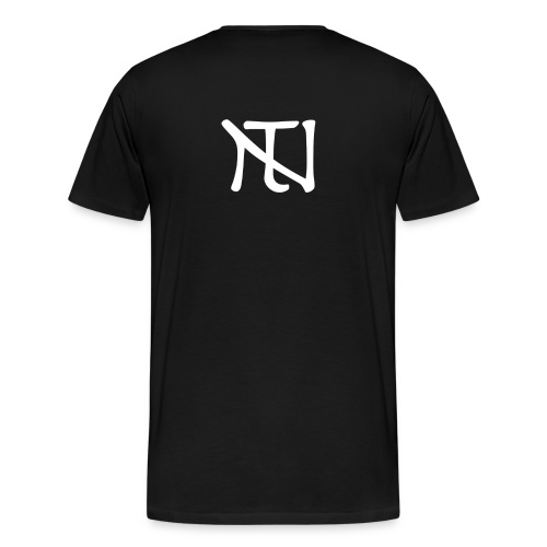 White Logo - Premium-T-shirt herr
