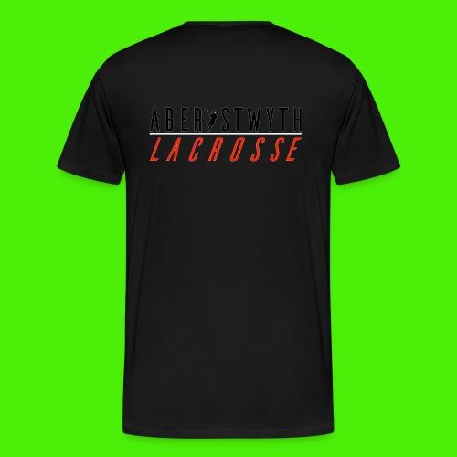 AberystwythLacrosseV5whit - Men's Premium T-Shirt
