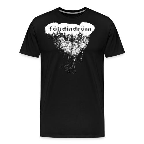 tshirt cloud white png - Premium-T-shirt herr