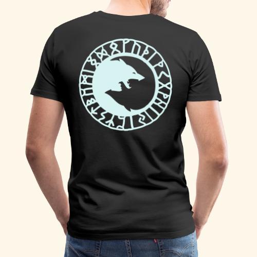 loup_runes_flocage - T-shirt Premium Homme