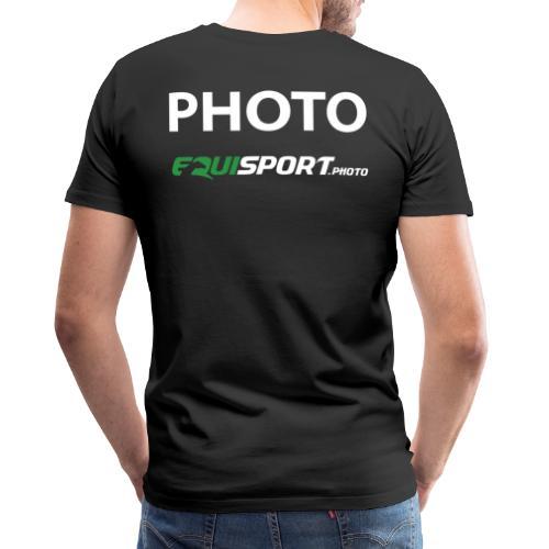 BIG PHOTO - Premium-T-shirt herr