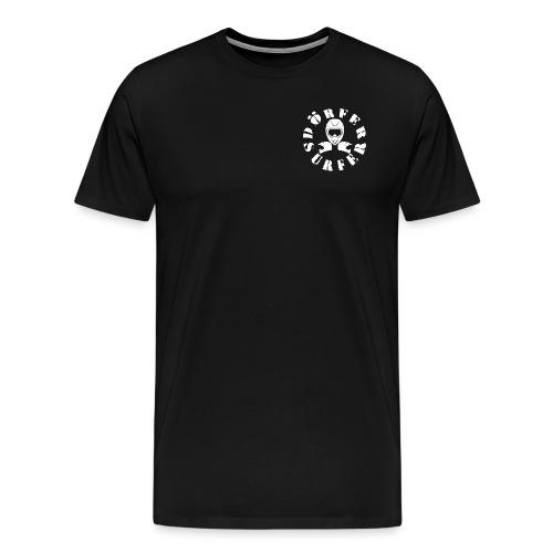 LOGO BRUST 2 png - Männer Premium T-Shirt