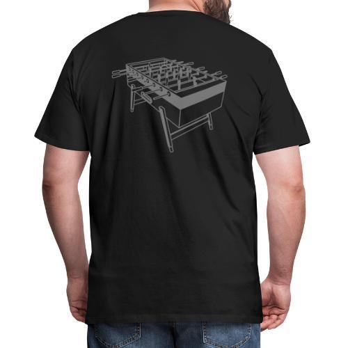 Kickertisch - Kickershirt - Männer Premium T-Shirt