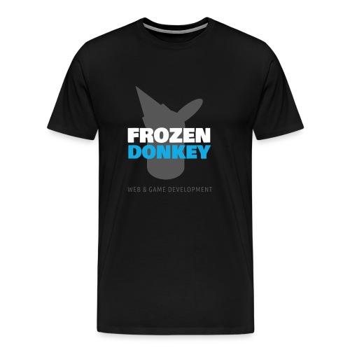 FrozenDonkey Logo Grey - Männer Premium T-Shirt