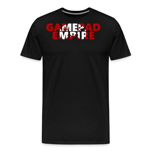 Schriftzug inkl. Logo - Männer Premium T-Shirt