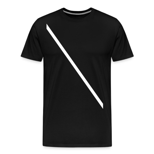 Minimale-Diagonale - Men's Premium T-Shirt